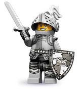 LEGO  MINIFIGURA SERIE 9 | Nº 04 CABALLERO HEROICO