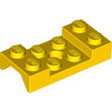 LEGO 602012 | 4600177 GUARDABARROS 2X4 C/ HOYO Ø 0,49 AMARILLO BRILLANTE