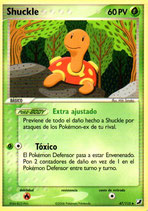 POKEMON CARTA PLANTA 47/115 SHUCKLE
