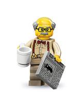 LEGO MINIFIGURA SERIE 10 | Nº 08 ABUELO