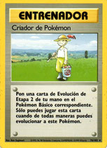 POKEMON CARTA ENTRENADOR 76/102 CRIADOR DE POKEMON