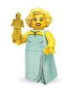 LEGO MINIFIGURA SERIE 9 | Nº 03 JOVEN ESTRELLA HOLLYWOOD