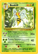 POKEMON CARTA PLANTA 17/102 BEEDRILL