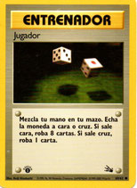 POKEMON CARTA ENTRENADOR 60/62 JUGADOR 1º EDC