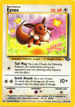 POKEMON CARTA 51/64 EEVEE