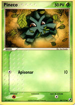 POKEMON CARTA PLANTA 66/115 PINECO