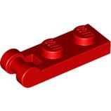 LEGO 60478 | 4515365 PLACA 1X2 W/ EJE Ø3.2 ROJO BRILLANTE