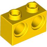 LEGO 32000 | 4201615 BLOQUE 1X2 C/ 2 HOYOS 4,87 AMARILLO INTENSO