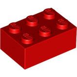 LEGO 3002 | 300221  BLOQUE 2X3 ROJO