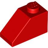 LEGO 3040 | 4121934 BLOQUE 1X2/45º TEJA C/ PENDIENTE ROJO BRILLANTE