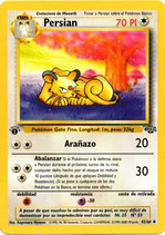 POKEMON CARTA 42/64 PERSIAN 1º EDC