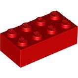 LEGO 3001 | 300121  BLOQUE 2X4 ROJO