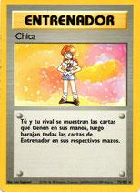 POKEMON CARTA ENTRENADOR 75/102 CHICA