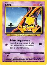 POKEMON CARTA PSICO 43-102 ABRA