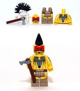 LEGO MINIFIGURA SERIE 10 | Nº 05 INDIO TOMAHAWK