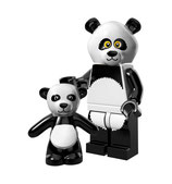 LEGO MOVIE MINIFIGURA SERIE 12 Nº 15 Chico Panda