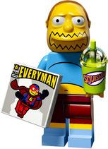 LEGO SIMPSONS 2 MINIFIGURA SERIE 71009 | 07 COMICBUCHVERKAEUFER