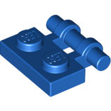 LEGO 2540 | 4140586 PLACA 1X2 C/ BARRA LATERAL AZUL