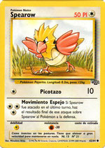 POKEMON CARTA 62/64 SPEAROW