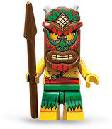 LEGO MINIFIGURA SERIE 11 | Nº 05 GUERRERO INDIGENA
