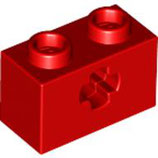 LEGO 32064 | 4233485  BLOQUE 1X2 C/ HOYO GRUZ ROJO INTENSO