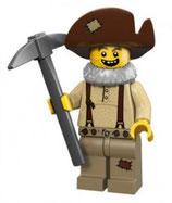 LEGO 71007 MINIFIGURA SERIE 12 Nº 08 MINERO OESTE