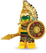 LEGO MINIFIGURA SERIE 7 | 02 GUERRERO AZTECA