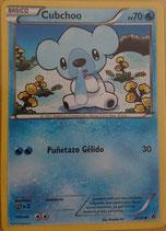 POKEMON CARTA AGUA 29/98 CUBCHOO