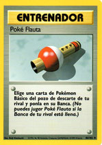 POKEMON CARTA ENTRENADOR 86/102 POKEFLAUTA