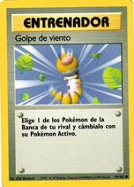 POKEMON CARTA ENTRENADOR 93/102 GOLPE DE VIENTO