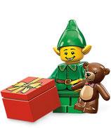 LEGO MINIFIGURA SERIE 11 | Nº 07 ELFO NAVIDEÑO