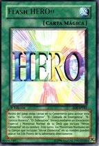 YUGIOH MAGICA | 00191749 FLASH HERO (TITULO PLATEADO) (1º EDC) EOJ