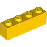 LEGO 3010 | 301024  BLOQUE 1X4 AMARILLO
