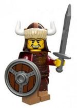 LEGO 71007 MINIFIGURA SERIE 12 Nº 02 GUERRERO MONGOL