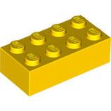 LEGO 3001 | 300124  BLOQUE 2X4 AMARILLO