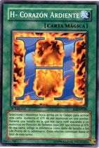YUGIOH MAGICA | 74825788 H- CORAZON ARDIENTE (1º EDC) EOJ