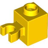 LEGO 60475 | 4515354 BLOQUE 1X1 C/ BOQUILLA HORIZONTAL AMARILLO BRILLANTE
