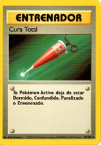 POKEMON CARTA ENTRENADOR 82/102 CURA TOTAL