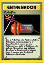 POKEMON CARTA ENTRENADOR 84/102 PODER PLUS