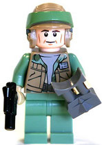 MINIFIGURA SW | 9489 ENDOR REBEL TROOPER GUN