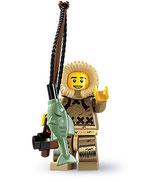 LEGO MINIFIGURA SERIE 5 | 04 PESCADOR ESQUIMAL