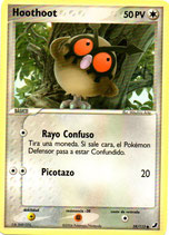 POKEMON CARTA INCOLORO 59/115 HOOTHOOT