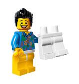 LEGO MOVIE MINIFIGURA SERIE 12 Nº 13 Chico Sin Pantalones