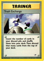 POKEMON CARTA ENTRENADOR 126/132 TRASH EXCHANGE