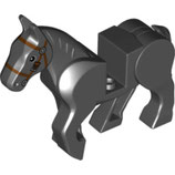 LEGO 10509 | 6037637 ANIMAL CABALLO GRIS PIEDRA OSCURO Nº 11 ASS 4