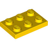 LEGO 3021 | 302124 PLACA 2X3 AMARILLO BRILLANTE