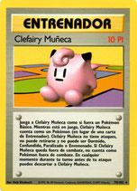 POKEMON CARTA ENTRENADOR 70/102 CLEFAIRY MUÑECA