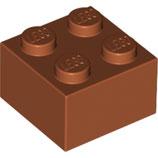 LEGO 3003 | 6212081 BLOQUE 2X2 NARANJA OSCURO