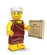 LEGO MINIFIGURA SERIE 9 | Nº 05 EMPERADOR ROMANO