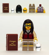 LEGO MINIFIGURA SERIE 10 | Nº 01 ESTUDIANTE UNIVERSITARIA